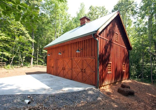 Barn Detached Garage Ideas