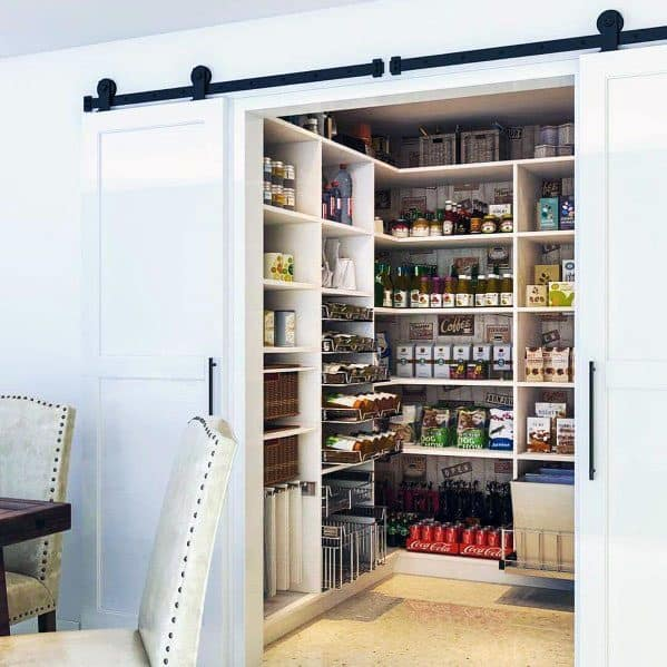Barn Door Sliding Kitchen Pantry Design Inspiration