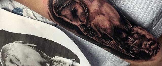 Barn Owl Tattoo Designs For Men