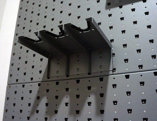 Barrel Horizontal Rifle Hanger For Gun Room Wall