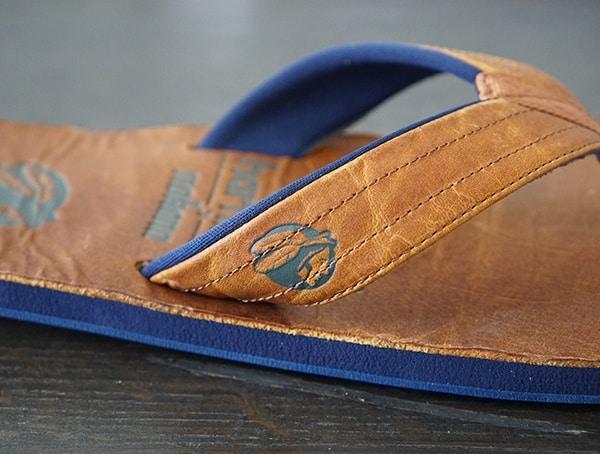 8235ba17a American Leather Top Grain Sandals For Men. Baseball Glove Leather Hari  Mari X Nokona Sandals For Men