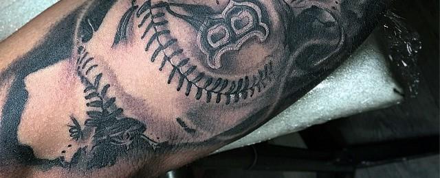 40 Baseball Tattoos For Men A Grand Slam Of Manly Ideas