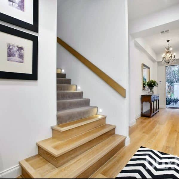 Baseboard Leds Excellent Interior Ideas Staircase Lighting