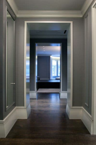 Top 40 Best Modern Baseboard Ideas - Luxury Architectural