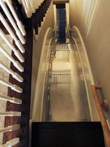 Basement Amazing Home Indoor Slide