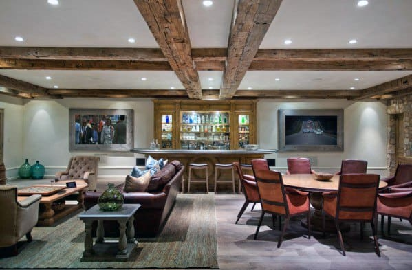 Basement Bar Cool Man Cave Ideas For Males