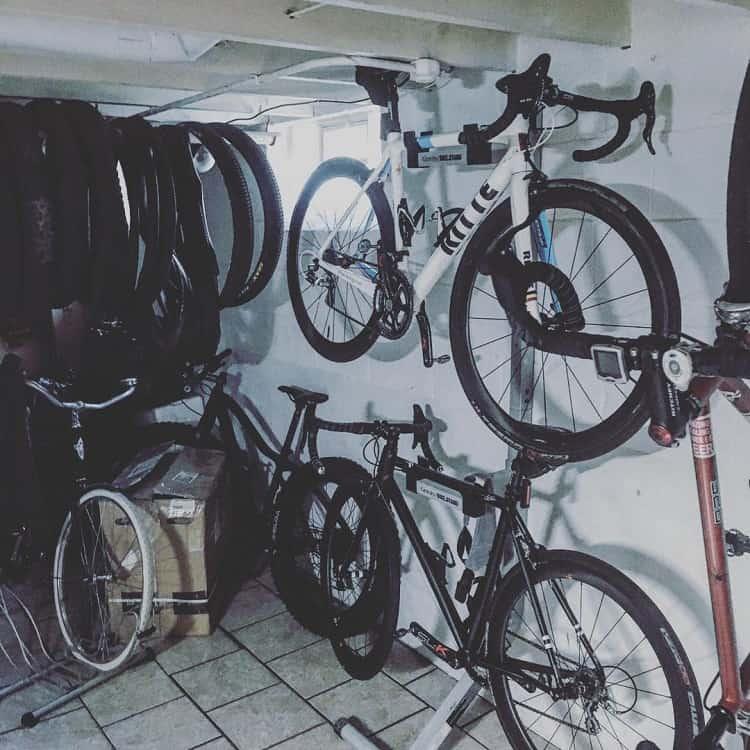Basement Bike Sports Storage