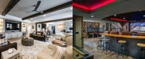 Top 60 Best Basement Ceiling Ideas – Downstairs Finishing Designs