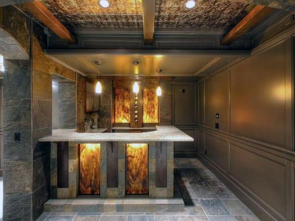 Basement Ceiling Options Metal Tiles