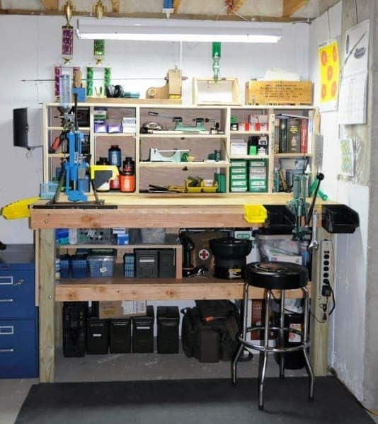 Basement Designs Reloading Bench