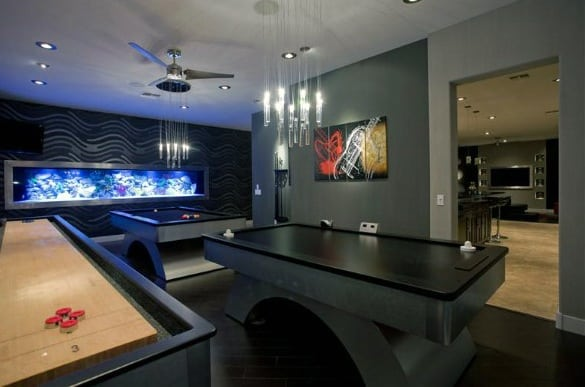 Basement Gaming Room Cool Man Cave Ideas