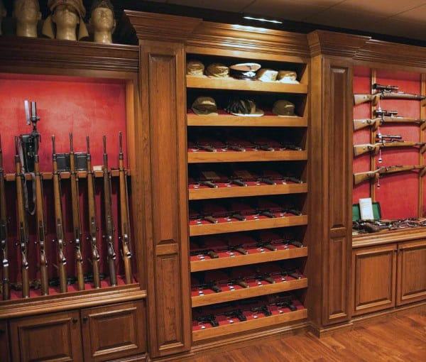 Basement Gun Room Inspiration