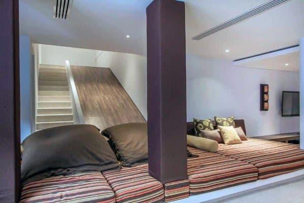 Basement Indoor Slide Ideas