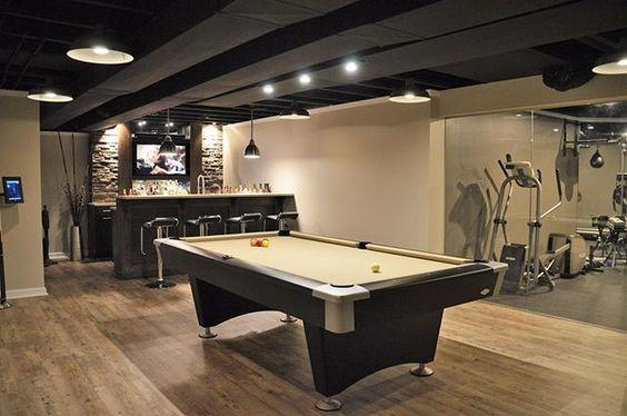 Top 60 Best Basement Lighting Ideas Illuminated Interior