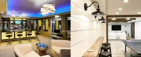 Top 60 Best Basement Lighting Ideas – Illuminated Interior Designs