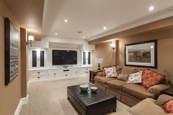 Basement Lighting Options