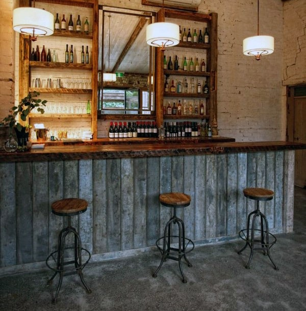 Basement Man Cave Home Bar Designs With Basement Bar Design