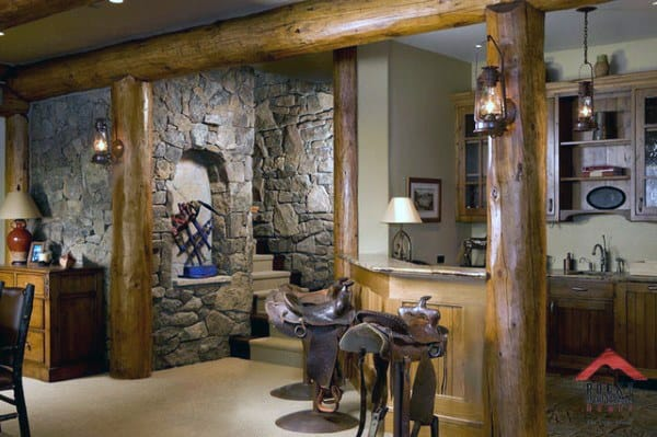 Basement Rustic Idea Inspiration