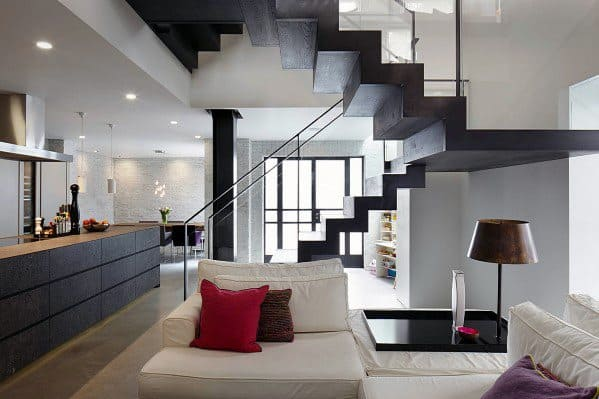 Basement Staircase Interior Ideas Ultra Modern