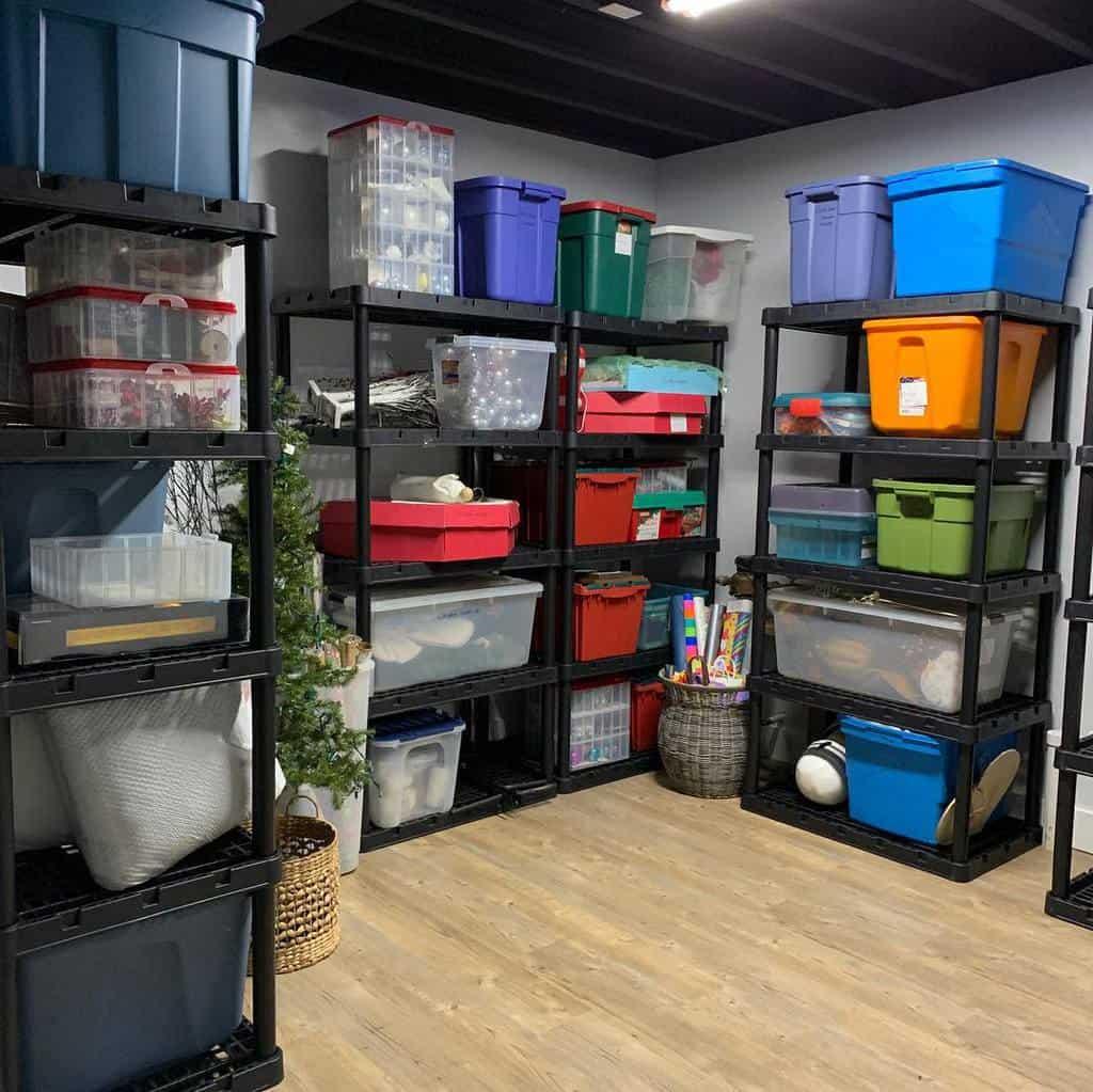 basement storage ideas serenityathomedetroit