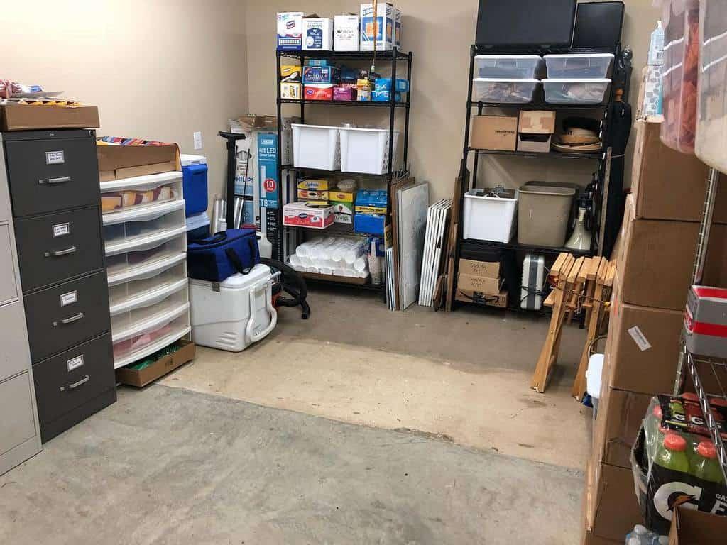 basement storage ideas whoozorganized