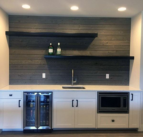 Top 60 Best Wood Backsplash Ideas Wooden Kitchen Wall
