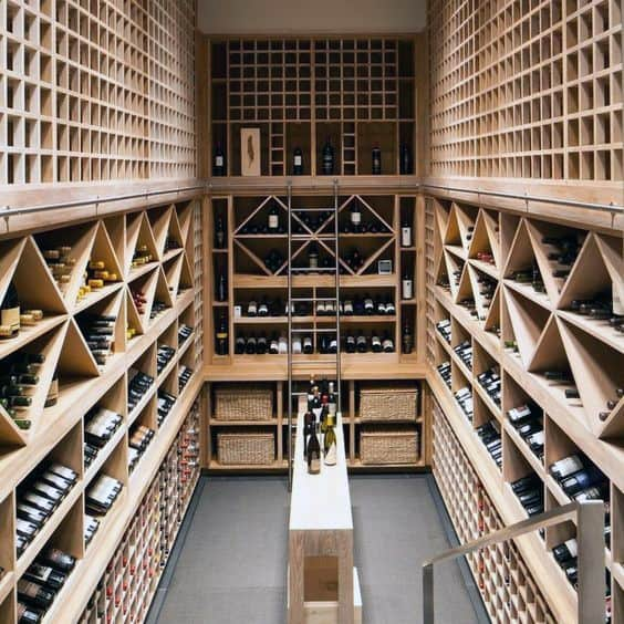 Lovely Basement Wine Cellar Design Ideas