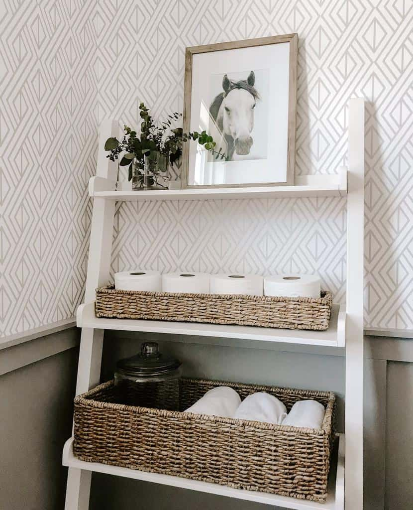 Basket And Bins Bathroom Storage Ideas Ohromeocreative