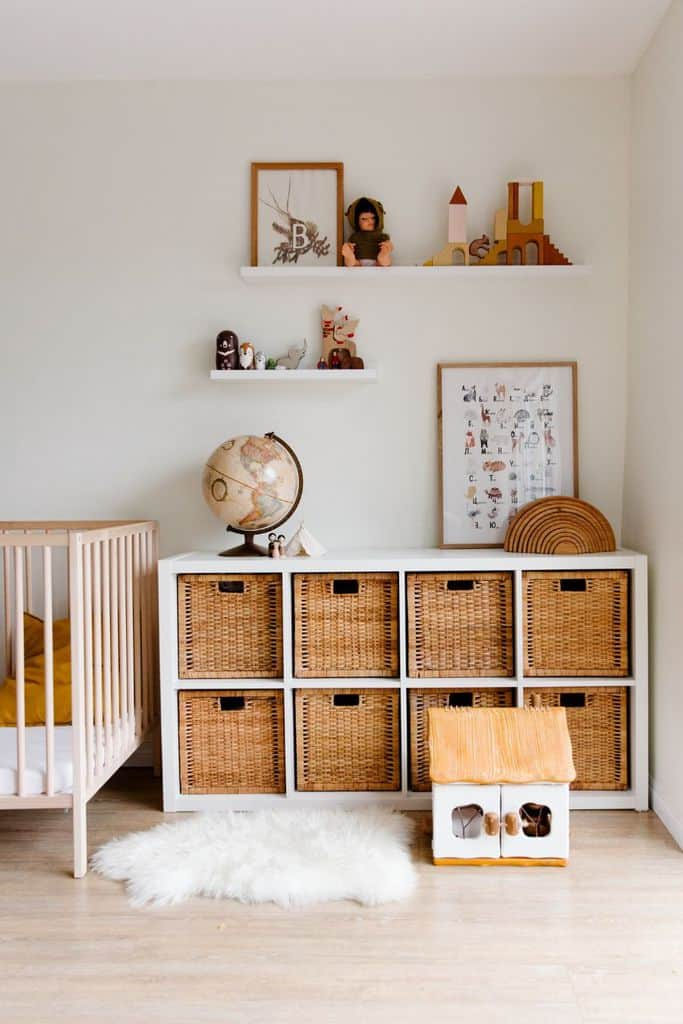 Basket And Bins Bedroom Storage Ideas