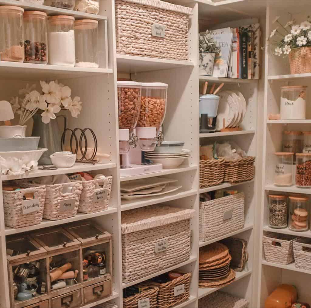 basket pantry organization ideas dusk2illdawn