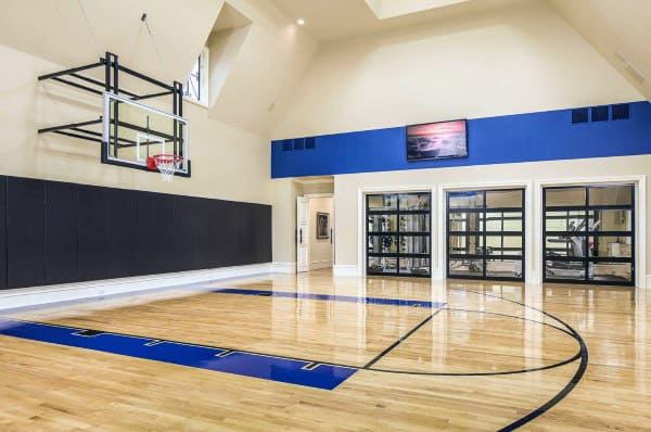 Basketball Court Home Gym Designs