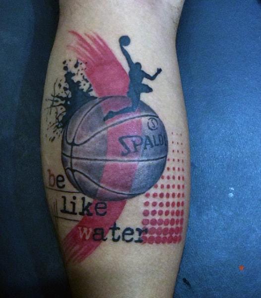 Basketball Player Tattoos For Men