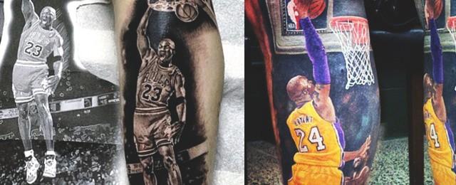 Basketball Tattoos For Men
