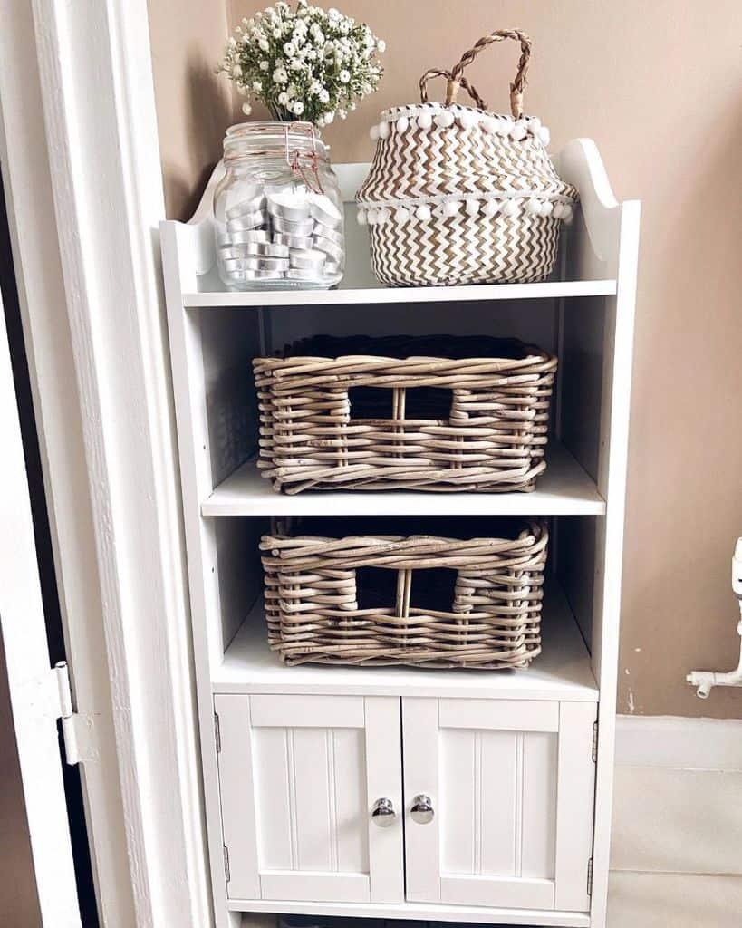 Baskets And Bins Bathroom Organization Ideas Ahomehealing.me