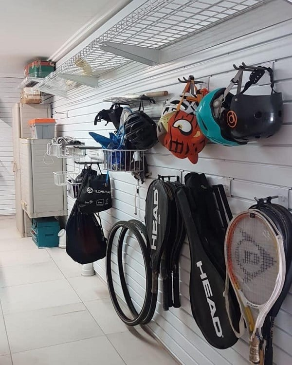 Baskets Wall Mounted Garage Shelves Mygarage Sa