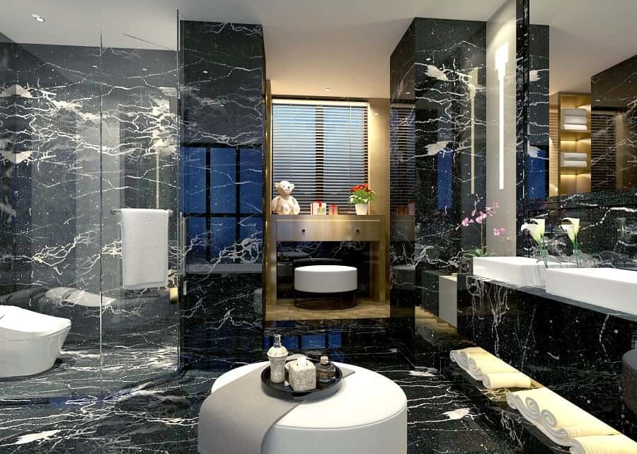 Bath Tub Luxury Marble Bathroom