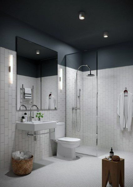Top Best Bathroom Ceiling Ideas Finishing Designs - Bathroom celing
