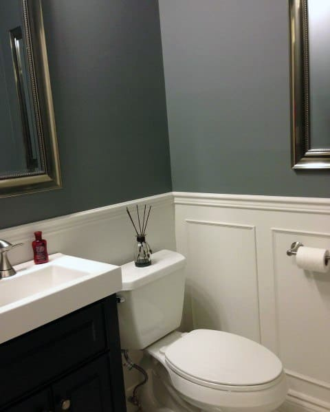 Bathroom Chair Rail Molding Ideas & Top 70 Best Chair Rail Ideas - Molding Trim Interior Designs