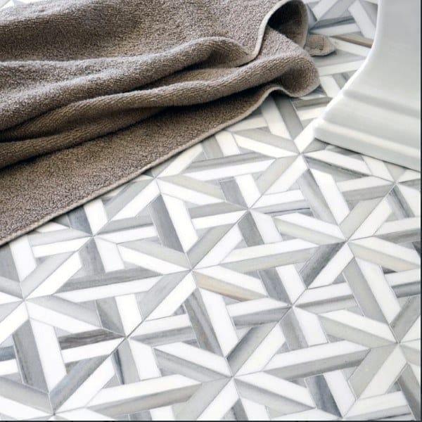 Bathroom Designs Floor Pattern