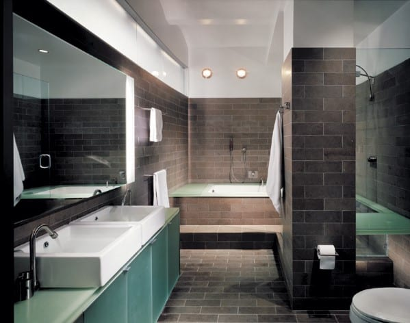 top 60 best modern bathroom design ideas for men - next luxury