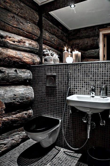 Bathroom Designs Log Cabin Interiors