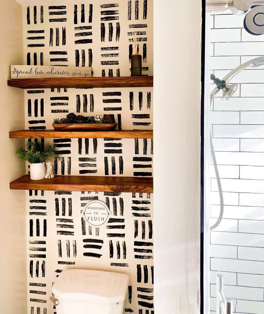 bathroom diy wall decor ideas akins_house