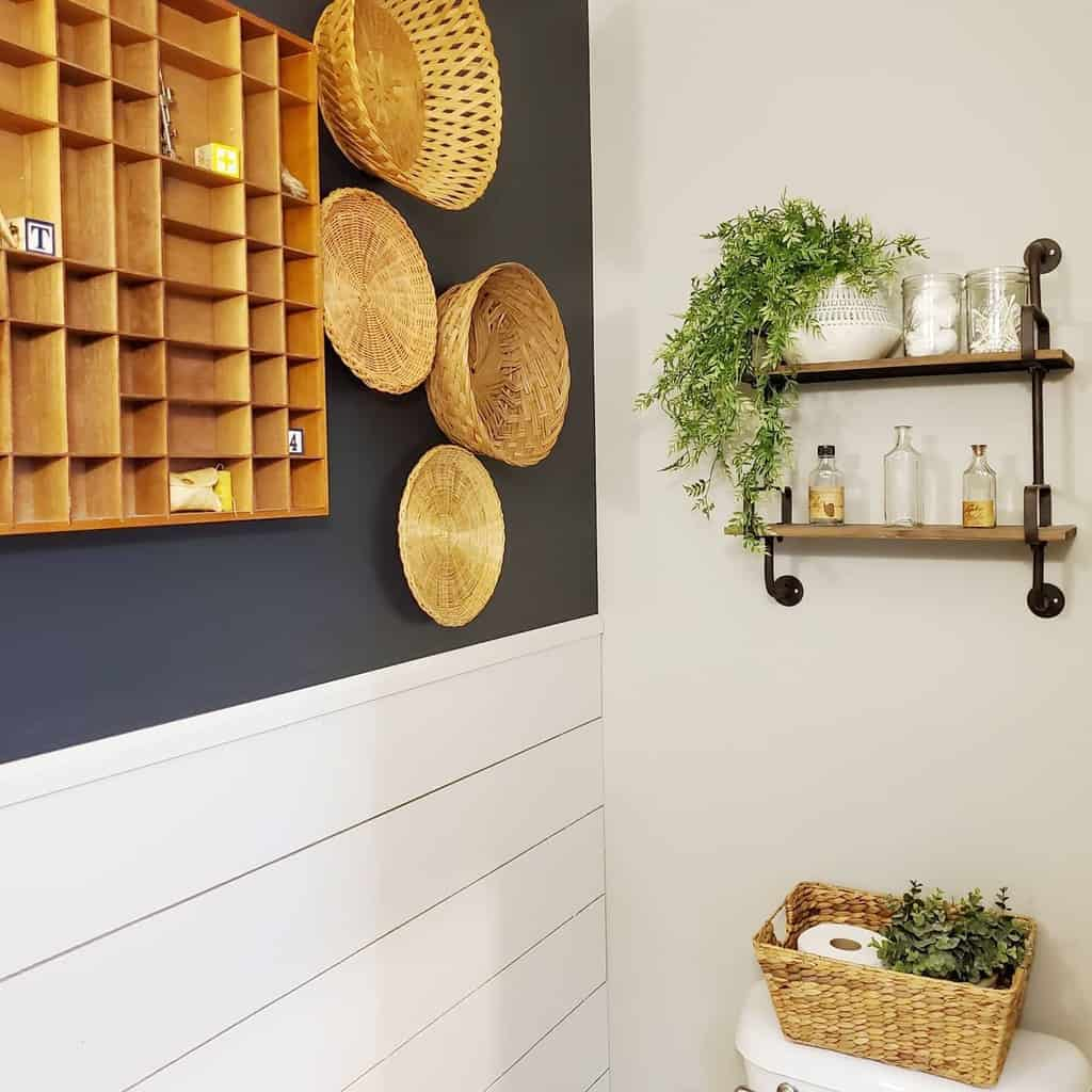 bathroom diy wall decor ideas foreverhome2035