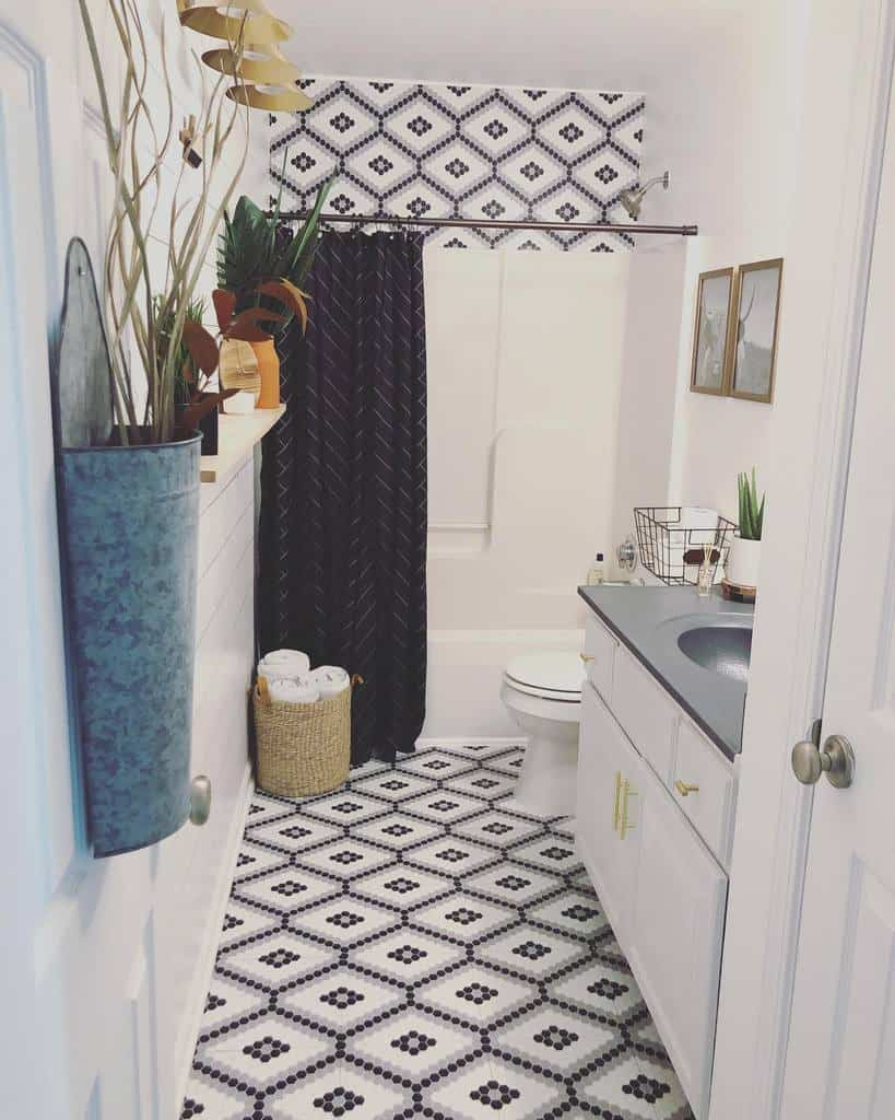 bathroom diy wall decor ideas perfectspaces_rachelletaylor