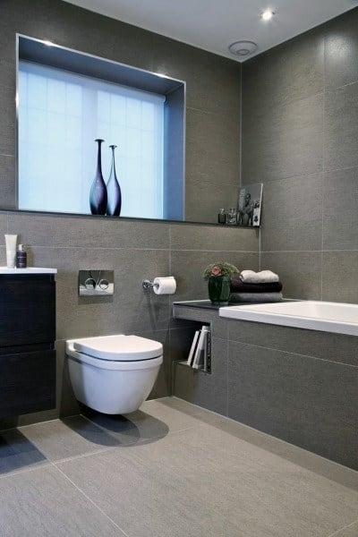 Bathroom Floor Ideas Grey