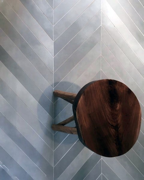 Bathroom Floor Tile Chevron Pattern