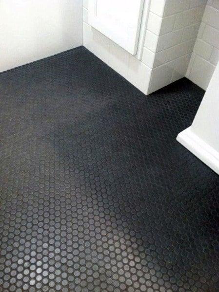 Bathroom Floor Tile Ideas Black