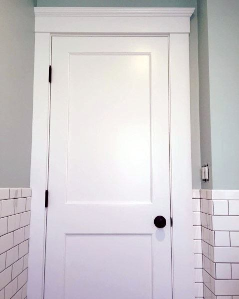 Bathroom Ideas For Door Trim