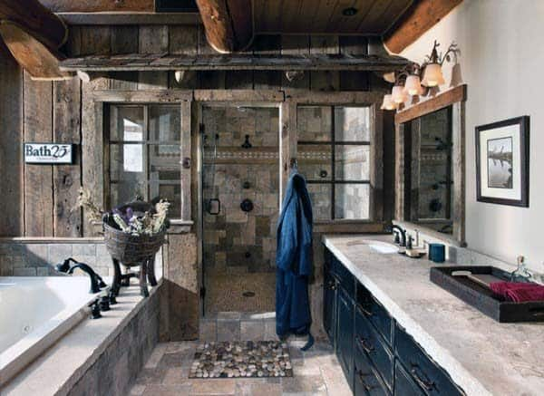 Bathroom Ideas With Rustic Decor