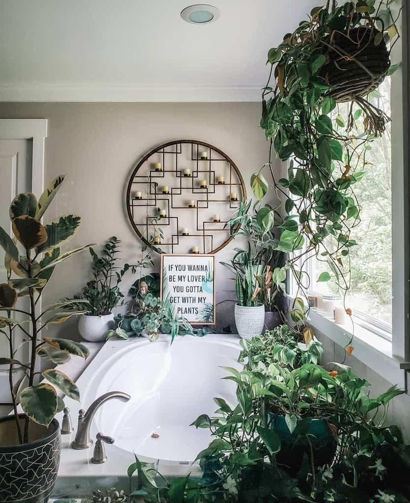 bathroom indoor garden ideas bellybaila
